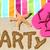 playa · fiesta · viaje · diversión · escrito · arena - foto stock © Maridav