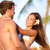 plage · couple · amour · vacances · été · amusement - photo stock © Maridav