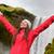 pessoas · cachoeira · Islândia · dourado · círculo · casal - foto stock © maridav
