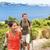 nő · sétál · tengerparti · promenád · sziget · Kanári-szigetek - stock fotó © maridav