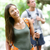 mensen · wandelen · gelukkig · wandelaar · paar · Hawaii - stockfoto © maridav