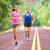 spor · çift · çalışma · yol · eğitim · maraton - stok fotoğraf © Maridav