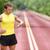corrida · homem · olhando · freqüência · cardíaca · monitor · correr - foto stock © maridav