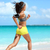fit runner cardio training doing running workout on beach stock photo © maridav