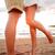 ロマンチックな · カップル · キス · 日没 · ビーチ - ストックフォト © maridav