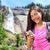 smartphone   woman hiker using smart phone on hike stock photo © maridav
