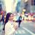 lezser · fiatal · felnőtt · nő · sétál · város · utcák - stock fotó © maridav