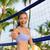 vôlei · bola · praia · amarelo · azul · esportes - foto stock © maridav