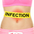 infection word written on stomach   body problem stock photo © maridav