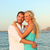beach couple romantic in love at sunset stock photo © maridav