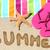 vacaciones · de · verano · playa · viaje · texto · verano · escrito - foto stock © Maridav