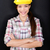 female construction worker or engineer portrait stock photo © maridav