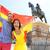 ludzi · Hiszpania · banderą · Madryt - zdjęcia stock © maridav