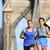 urban runners running people in new york city nyc stock photo © maridav