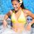 幸せ · 女性 · リラックス · 温水浴槽 · 小さな · 美人 - ストックフォト © maridav
