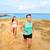 lopers · lopen · strand · jogging · paar · opleiding - stockfoto © maridav