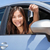 幸せ · 女性 · 買い · 車 · 新しい車 · サロン - ストックフォト © maridav