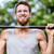 crossfit fitness man exercising chin ups workout stock photo © maridav