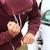 tolvaj · autó · csavarhúzó · kalap · férfi · biztosítás - stock fotó © maridav