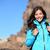mutlu · sağlıklı · kadın · dağ · manzara · sevimli - stok fotoğraf © maridav