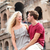 travel couple in rome by coliseum in love stock photo © maridav