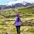 sport athlete   exercising trail runner running stock photo © maridav
