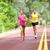 İkincisi · çift · çalışma · eğitim · maraton · yol - stok fotoğraf © maridav