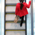 urban people   woman commuter walking on escalator stock photo © maridav