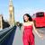 London · életstílus · nő · fut · Big · Ben · női - stock fotó © maridav