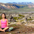 meditating yoga woman in meditation in nature stock photo © maridav