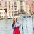 jongeren · rivier · auto · vrouwen · gelukkig - stockfoto © maridav