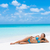 beach paradise getaway sexy bikini woman tanning stock photo © maridav