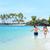 пару · работает · волны · пляж · женщину · весело - Сток-фото © maridav