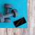 ヨガ · ホーム · ライフスタイル · 若い女性 · ボディ - ストックフォト © maridav
