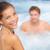 健康 · スパ · カップル · リラックス · 温水浴槽 · ジャグジー - ストックフォト © maridav