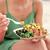poke bowl salad plate   a local hawaii food dish stock photo © maridav