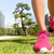 running shoes   woman jogging in tokyo park japan stock photo © maridav