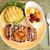 kip · hamburger · geïsoleerd · sesamzaad · voedsel - stockfoto © maridav