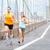 runners couple running in new york stock photo © maridav