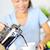 コーヒー · 女性 · 飲料 · フランス語 · キーを押します · 朝食 - ストックフォト © Maridav