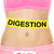 digestion conceptual woman stomach with text stock photo © maridav