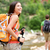 people hiking   woman hiker walking in zion park stock photo © maridav