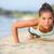 強い · 女性 · ビーチ · 水 · スポーツ - ストックフォト © maridav