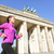 running woman in berlin germany stock photo © maridav