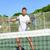 homem · bola · vôlei · masculino · esportes - foto stock © maridav