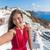 Avrupa · Yunanistan · santorini · adası · seyahat · tatil · kadın - stok fotoğraf © maridav