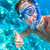 snorkeling man underwater giving thumbs up stock photo © maridav