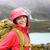 boldog · fiatal · ázsiai · természetjáró · nő · kirándulás - stock fotó © Maridav
