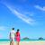 Hawaii · balayı · çift · yürüyüş · tropikal · plaj · yeni · evliler - stok fotoğraf © maridav