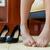 ayak · parmakları · ağrı · külotlu · çorap · kadın · ayak - stok fotoğraf © maridav